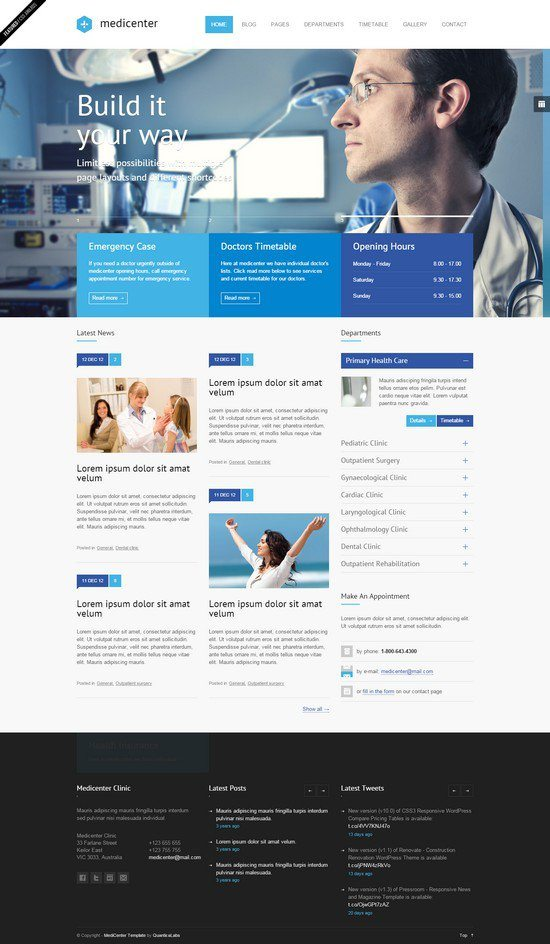 MediCenter-Responsive-Medical-Health-Template
