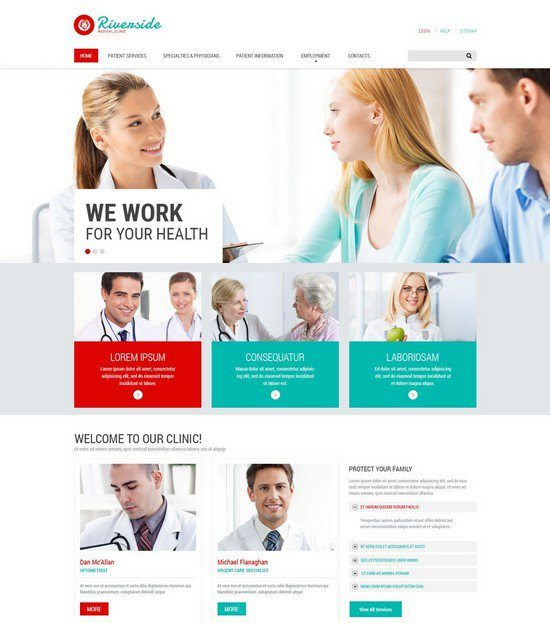 Medical Services Website Template