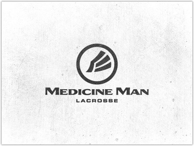 Medicine Man Lacrosse - Logo Design