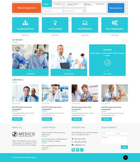 Medico-Medical-Health-HTML5-Template
