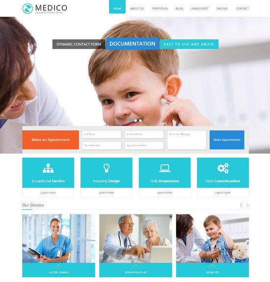 Medico - Medical & Health Muse Template