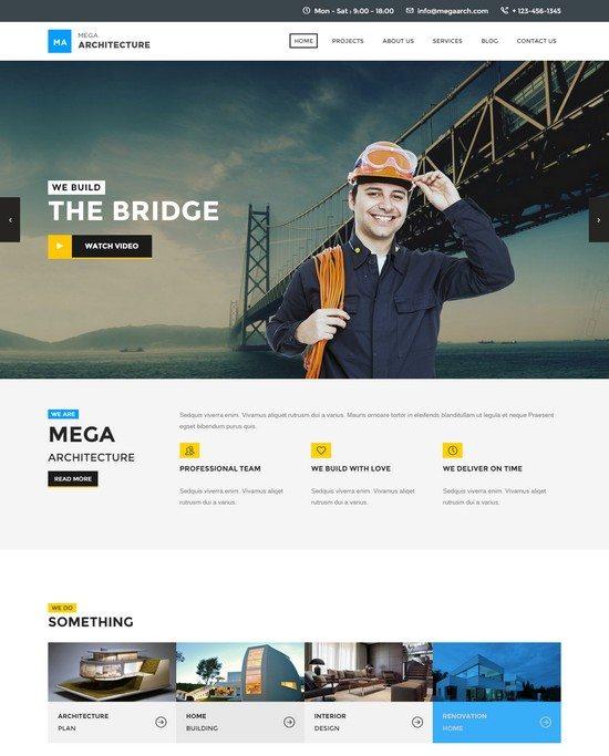 Mega Architecture Construction, Building Template