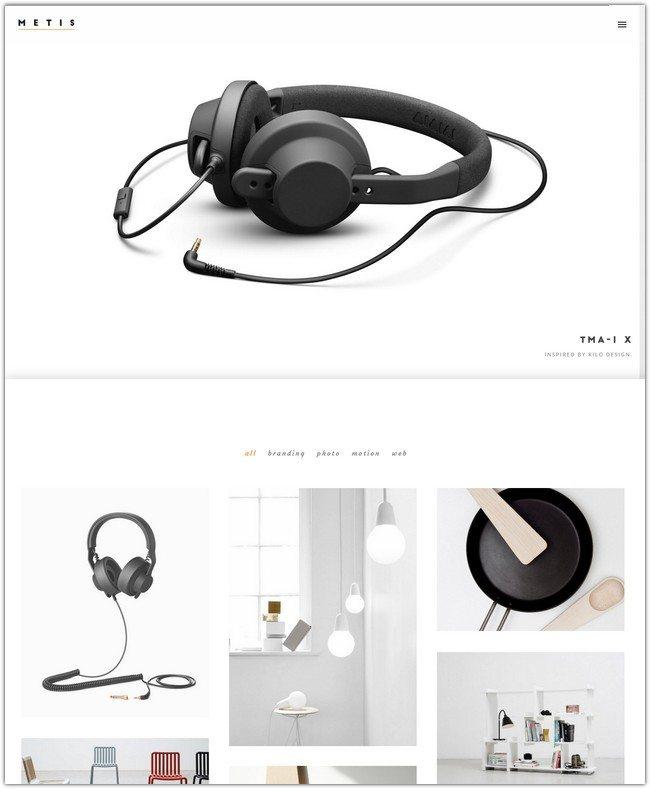 Metis - Creative Portfolio Agency Template