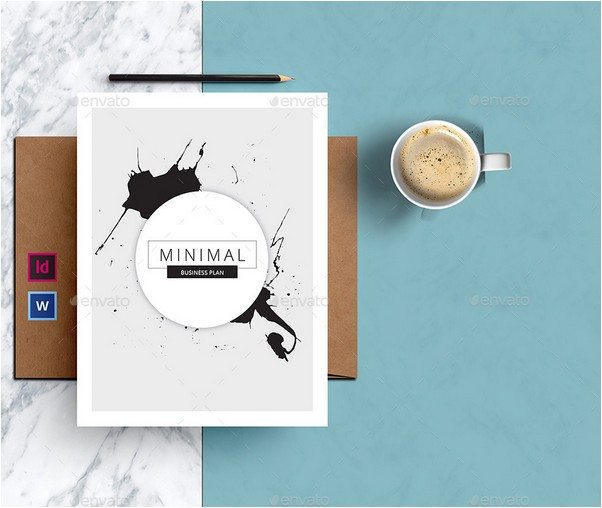 Minimal Business Brochure-Indesign Template