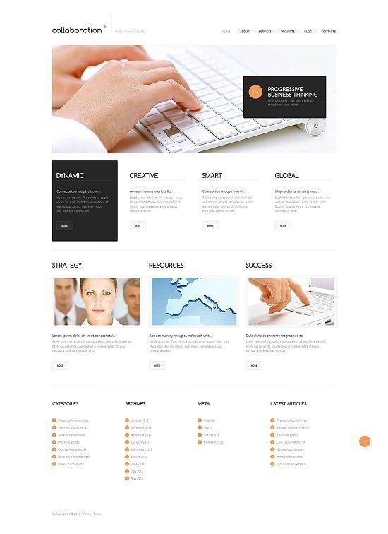 Minimal Marketing Agency WordPress Theme
