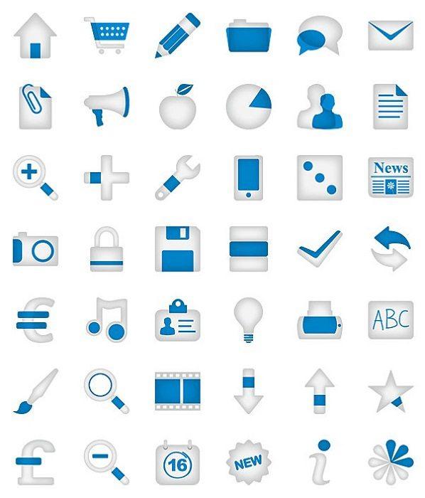 Minimalistica-Icon-Set