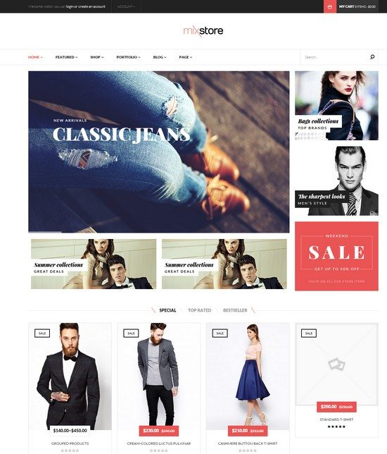 MixStore - MultiShop WooCommerce Theme