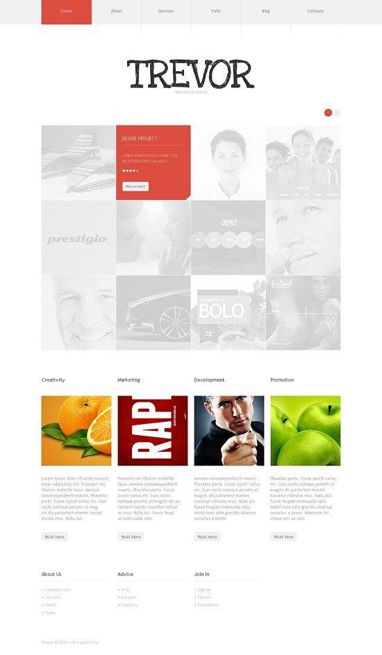 Modern Design Studio WordPress Theme