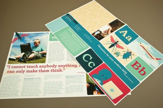 Modern Education Brochure Template