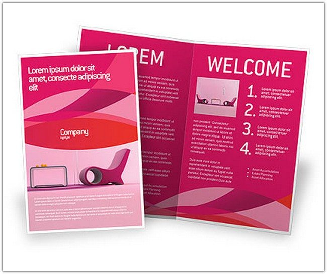 Modern Interior Design Brochure Template #02808