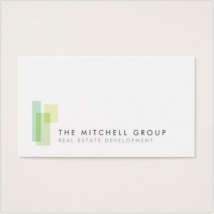 Modern Logo 3 for Architect Business Card