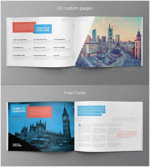 Modern Travel Brochure