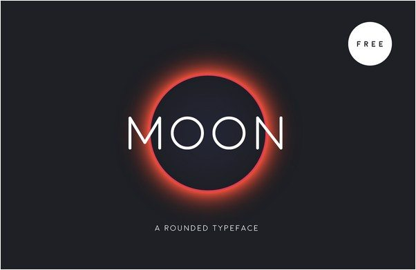 Moon - Free Font