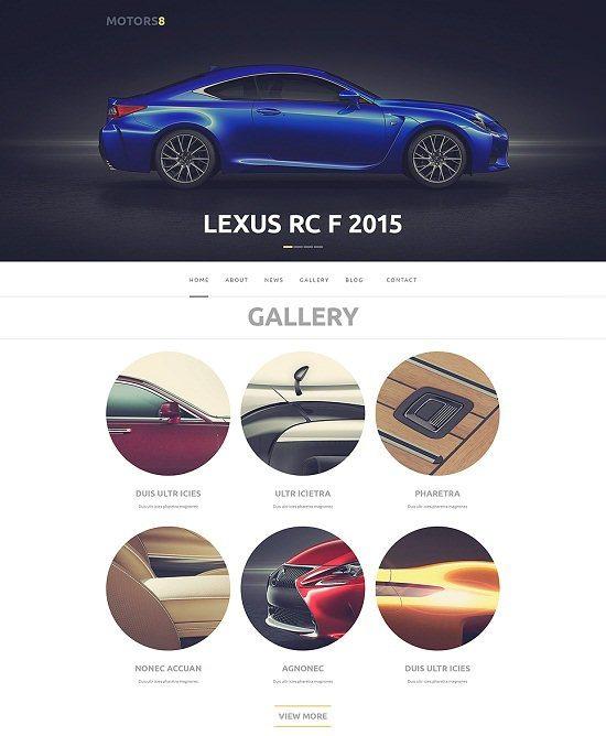 Motors 8 Responsive WordPress Theme