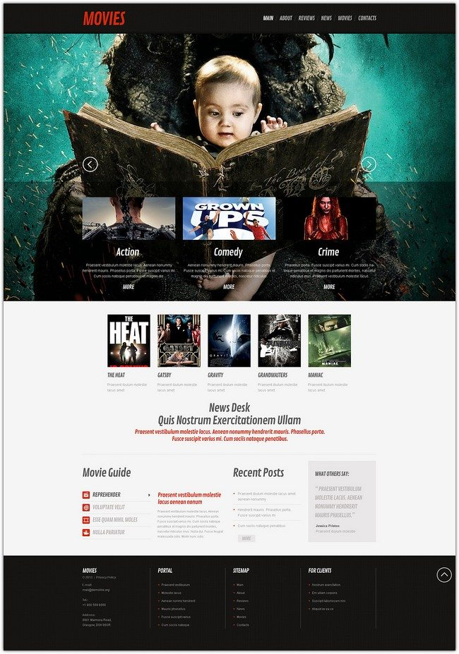 Movie Responsive Wp Theme