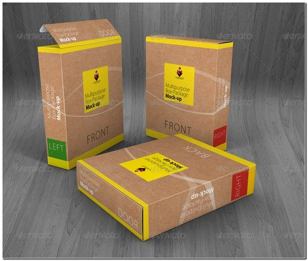 Multipurpose Product Box Mock ups