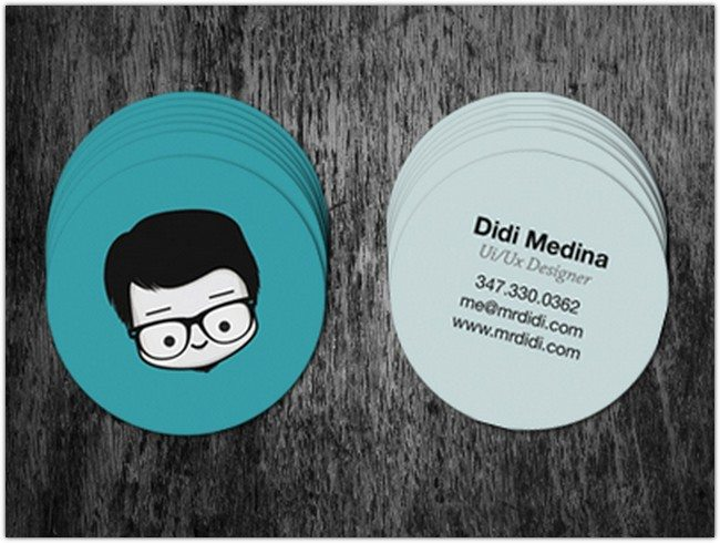 My New Circle Business Cards