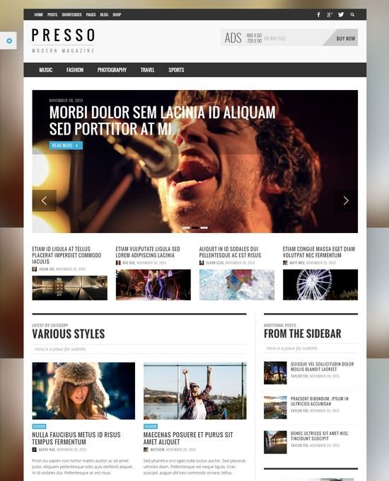 NEUE - Smart & Modern Magazine Theme