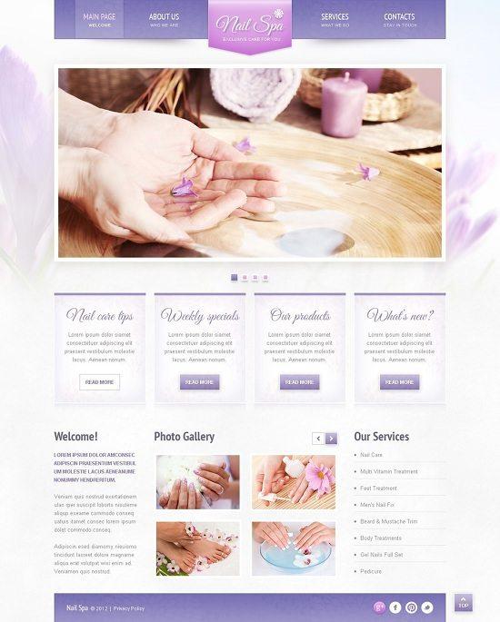 Nail-Salon-Responsive-Website-Template