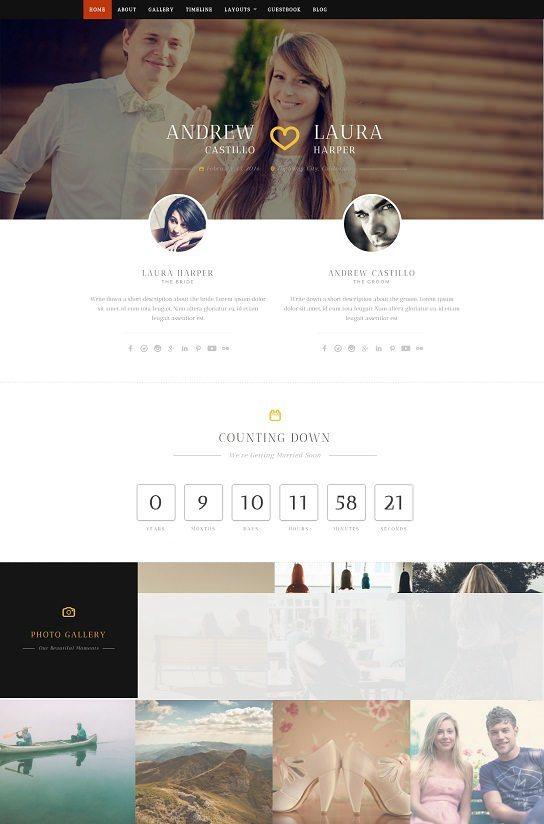 Neeqah - Responsive Wedding WordPress Theme