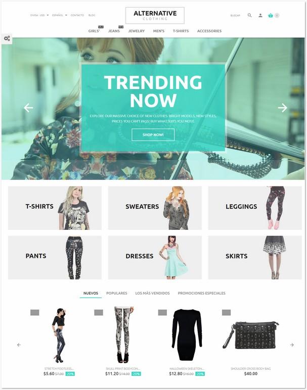 New Fashion PrestaShop Theme
