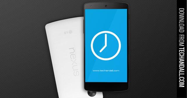 Nexus 5 Mock up Screen