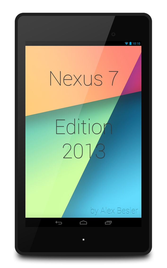 Nexus 7 2013 Flat PSD