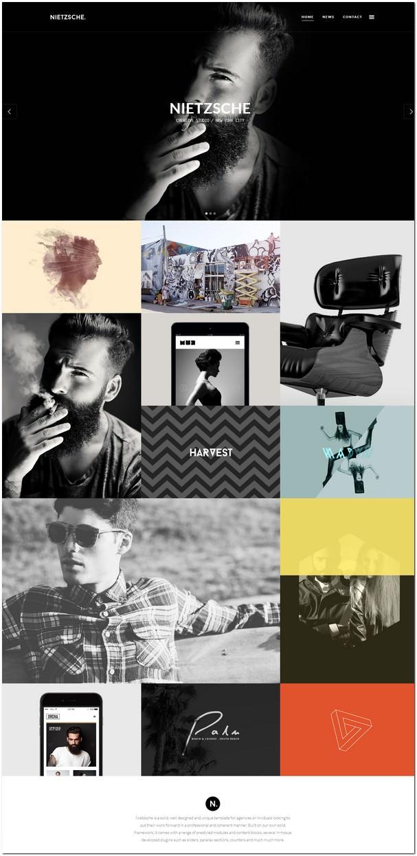 Nietzsche - Creative Portfolio HTML Template