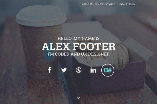 Nitteo Wordpres – One Page Portfolio