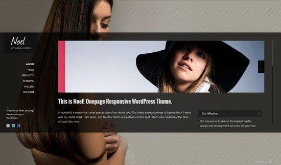 Noel – Responsive Onepage WordPress Theme