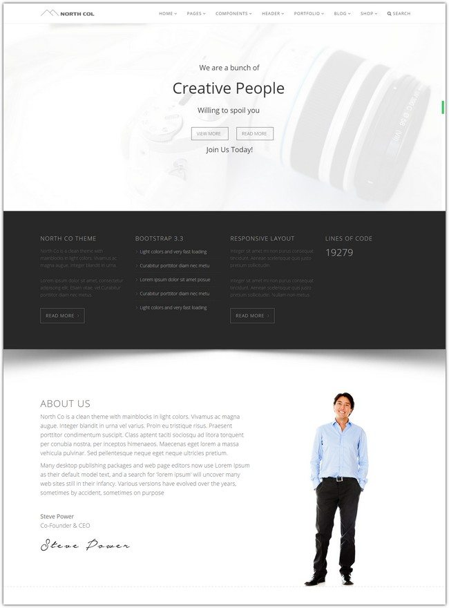 North Col - MultiPurpose Drupal Theme