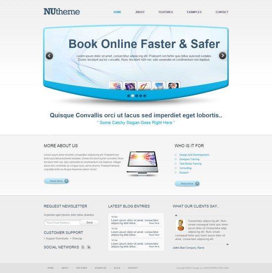 NuTheme - Free Template
