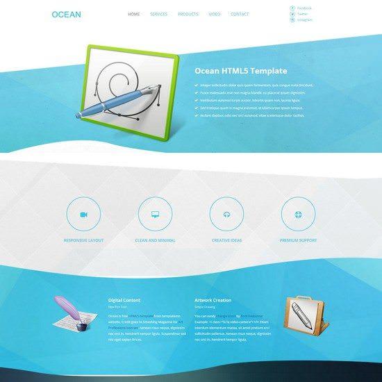 Ocean HTML5 Template