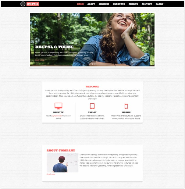 78+ Top Best Responsive Drupal Themes Free & Premium