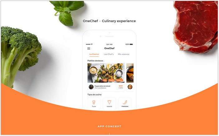 OneChef - Mobile app