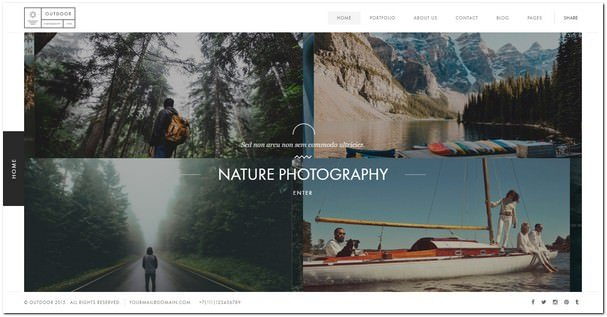 Outdoor - Photography / Portfolio Template
