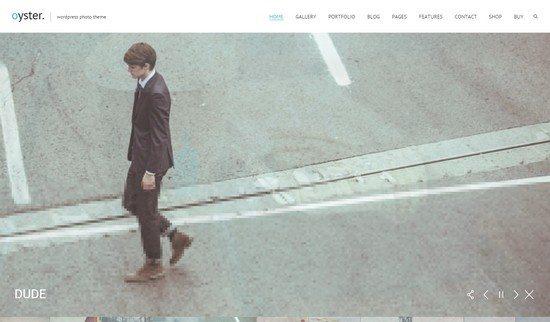 Oyster – Creative Photo WordPress Theme