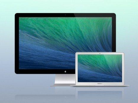 PSD Macbook Air Thunderbolt Display