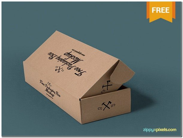 Packaging Box Mockups