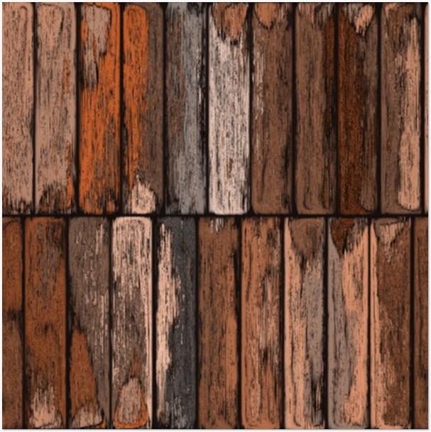 Painted Urban Wood