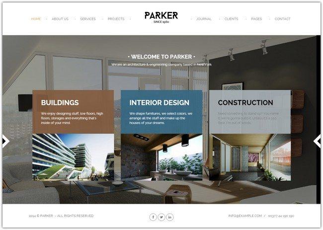 Parker - Creative WordPress Showcase