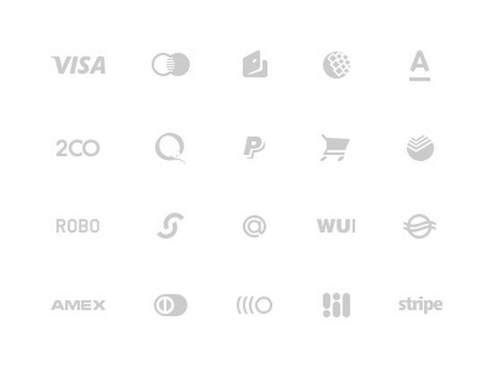 Payments glyph
