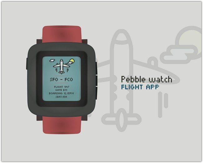 Pebble Time Vector Mockup