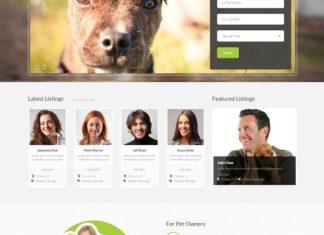 Animal Website Template
