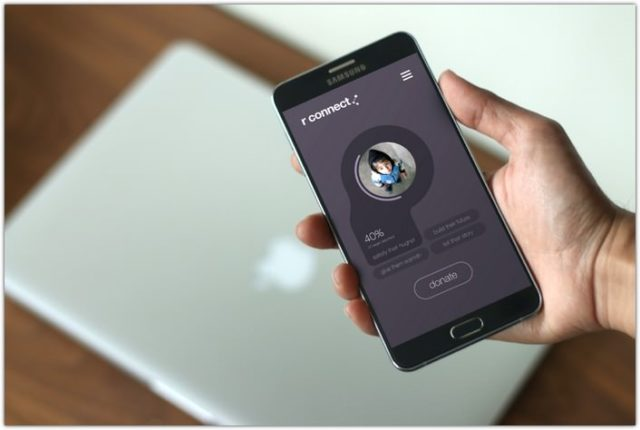 Photo-realistic Android App Display Mockups