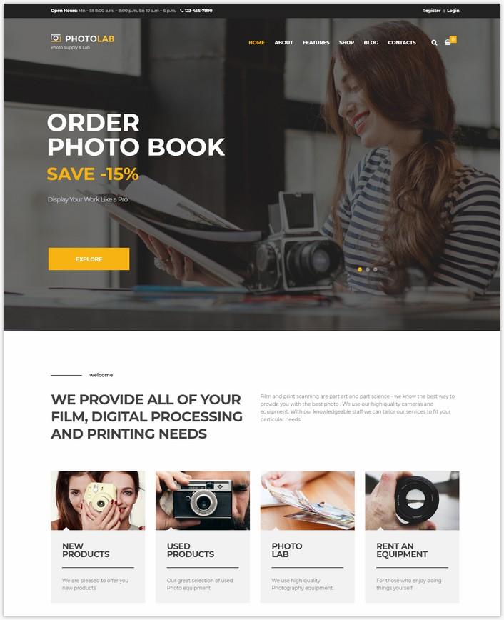 PhotoLab Photo Company & Photo Supply Store