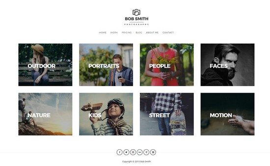 Photographer – A WordPress Theme For Photographer