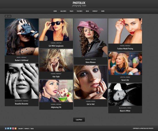 Photolux – Photography Portfolio WordPress Theme