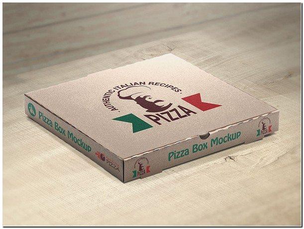 Pizza Box Mockups