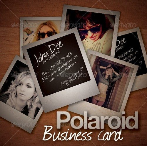 Polaroid-Business-Card